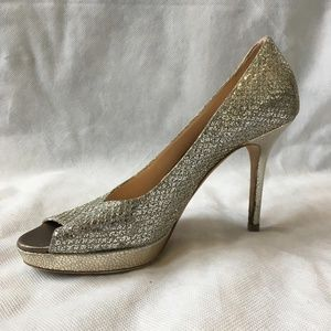 Champagne Crown Pumps